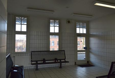 eerste klas wachtruimte